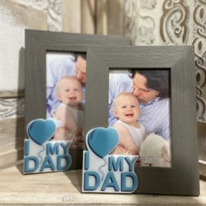 "cornice ""I Love my Dad"""
