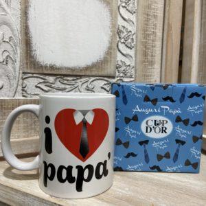 """tazza """"I love papà"""""""