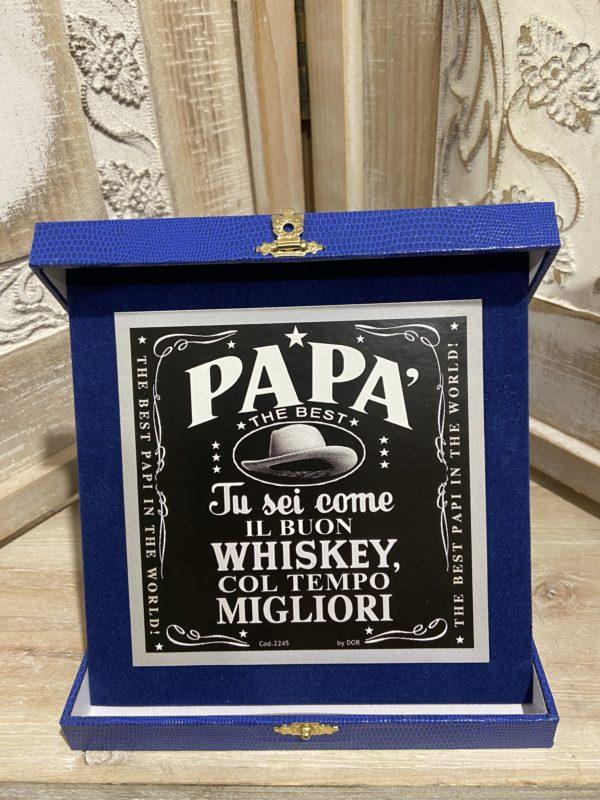 "targa ""papà the best"""